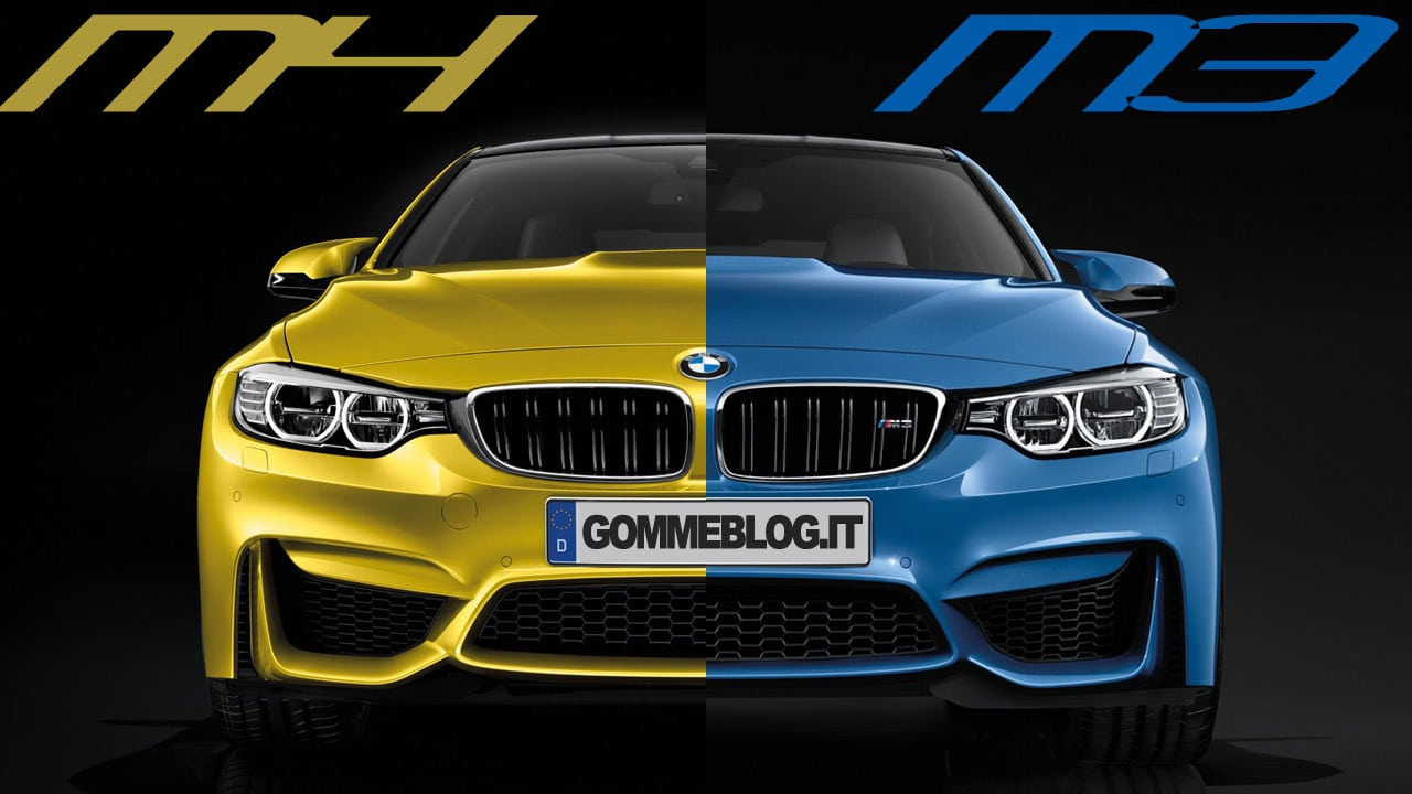 Nuove BMW M4 Coupè e BMW M3 Berlina