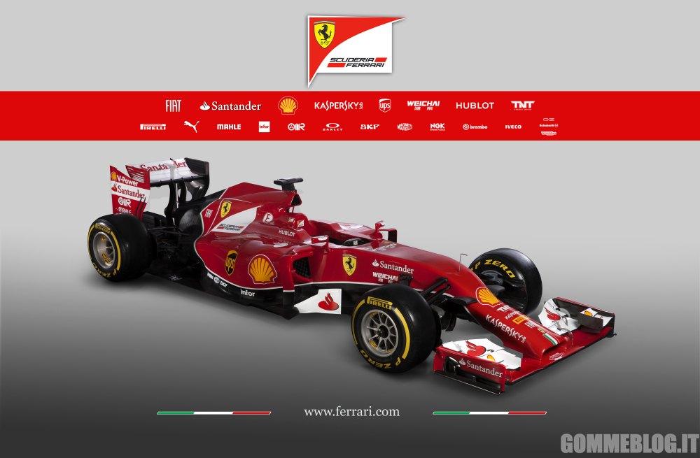 Ferrari F14 T: Ecco la nuova Rossa da Formula 1 2