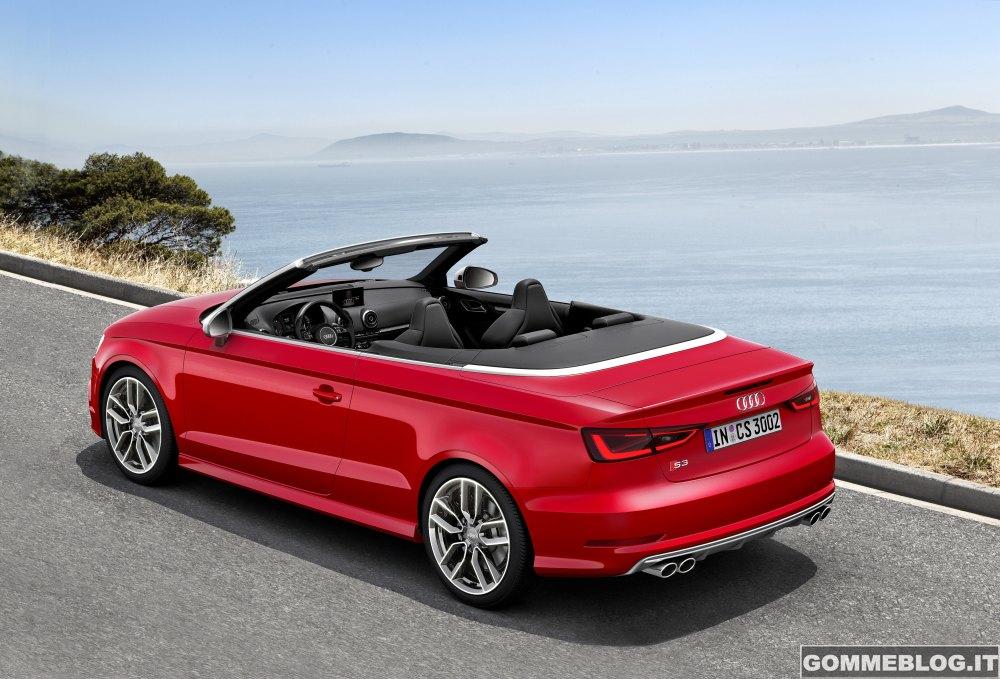 Audi S3 Cabriolet: trazione quattro e dinamismo a cielo aperto