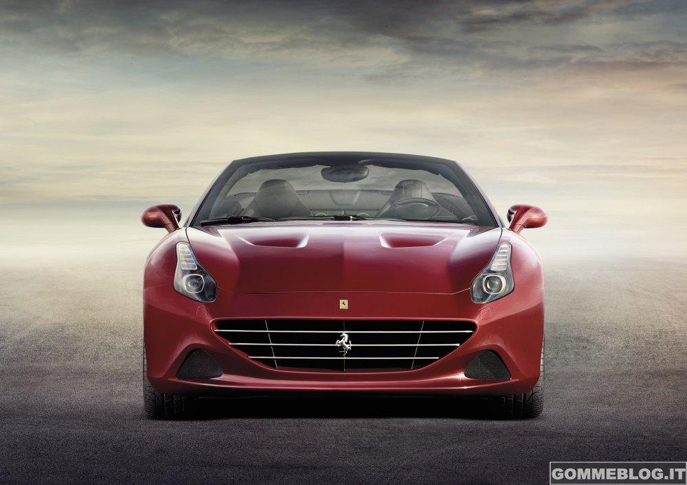 "Ferrari California T ""calza"" Pneumatici Bridgestone S007 RFT"