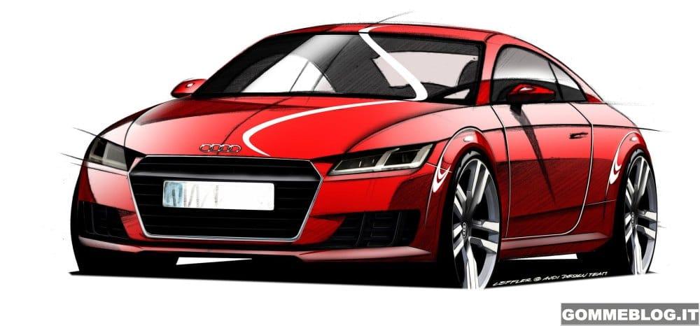 Nuova Audi TT 2014: Anteprima al Salone di Ginevra