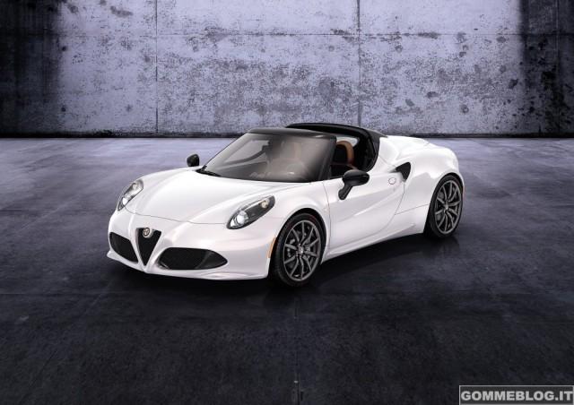 Alfa Romeo 4C Spider - 4