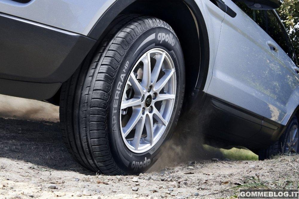 Apollo Tyres presenta il nuovo pneumatico Estivo per SUV Apterra HP