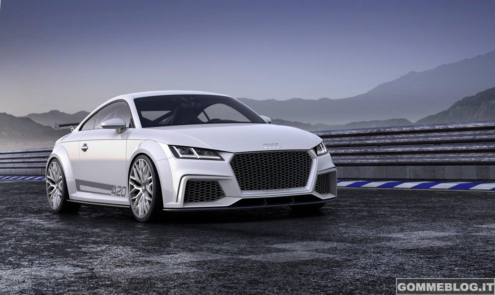Audi TT quattro sport concept: 2 Litri da 420 CV 2