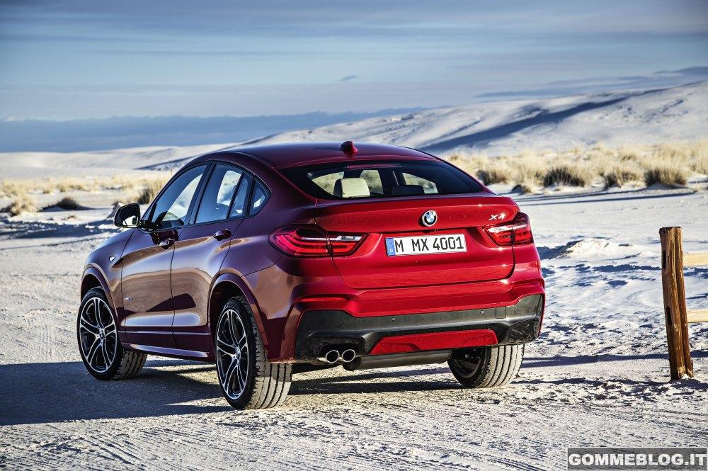 Nuova BMW X4: Galleria IMMAGINI