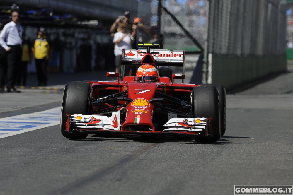 F1 2014 GP D'Australia PROVE LIBERE: 3° e 7° Tempo per le Ferrari