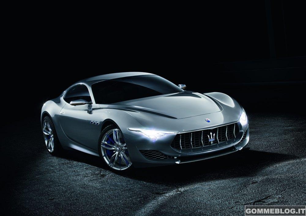 Maserati Concept Alfieri al Salone dell'Auto di Ginevra
