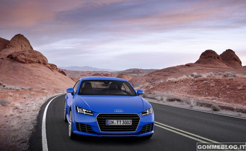 Nuova Audi TT 2014 – IMMAGINI – FOTO Ufficiali