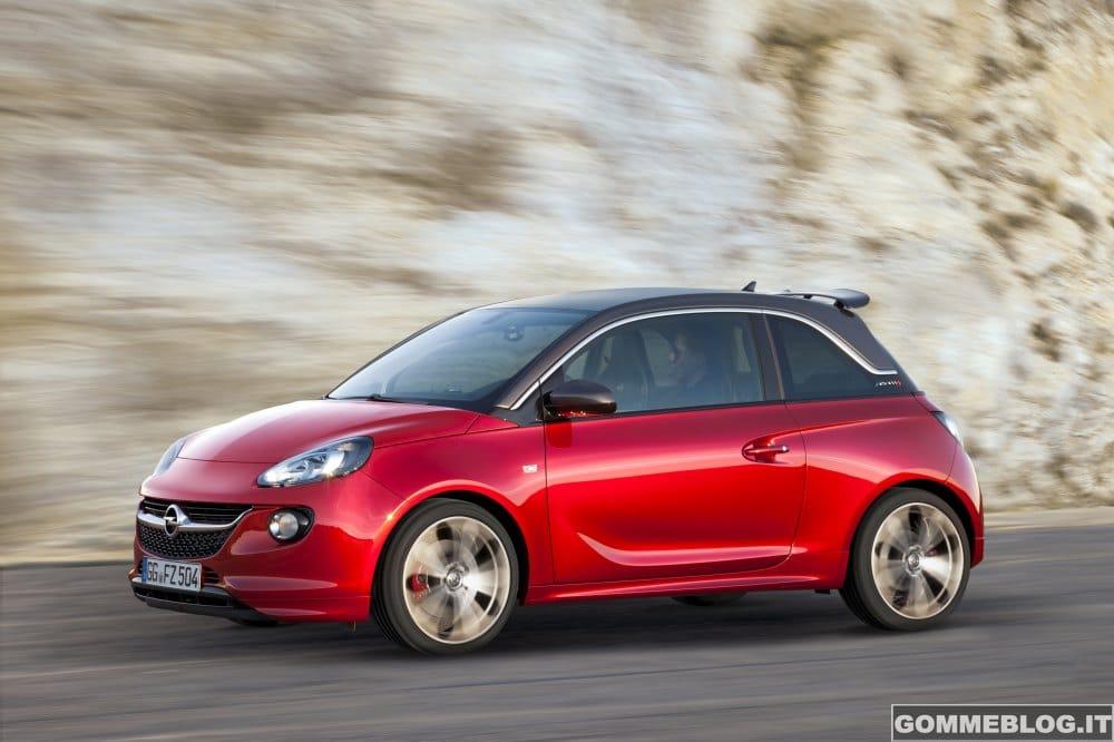 Opel ADAM S: la nuova piccola sportiva da 150 CV