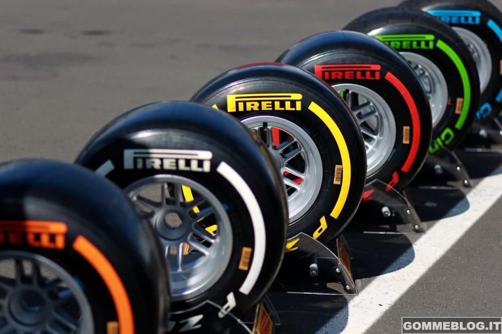 Formula 1 2015: Debutto per le nuove Gomme Pirelli