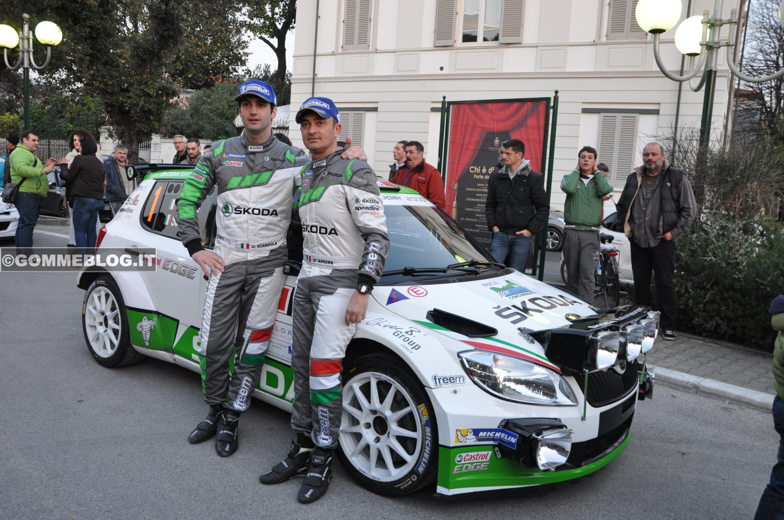 Skoda PARTENZA Rally Il Ciocco 2014 [VIDEO] [FOTO]