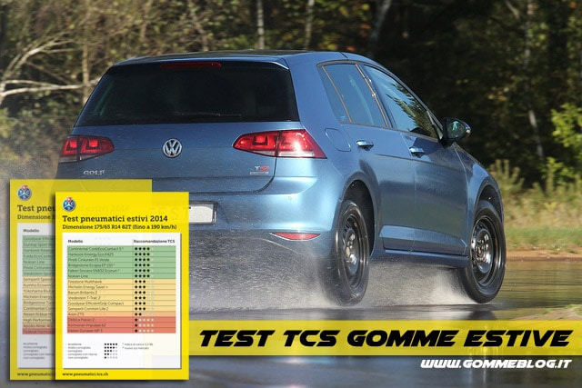 Test TCS Pneumatici Estivi 2014 [VIDEO]