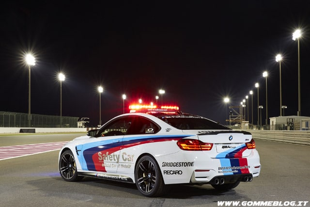 Gomme Bridgestone: pneumatici ufficiali Safety Car BMW MotoGP 2014
