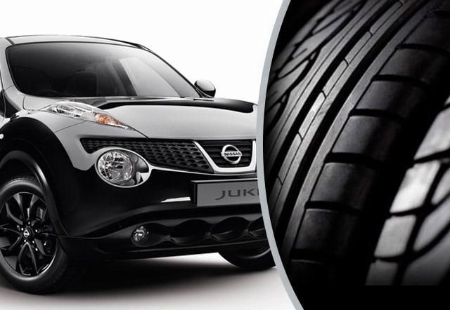 La mia Nissan Juke e i suoi pneumatici per l'estate