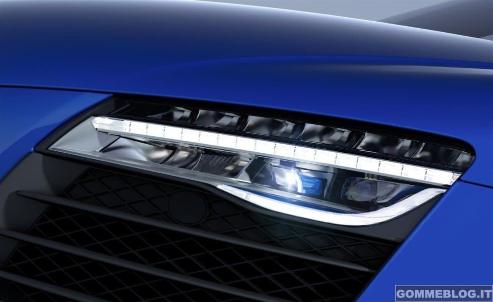 Audi R8 LMX: il primo modello di serie al mondo con abbaglianti laser 3