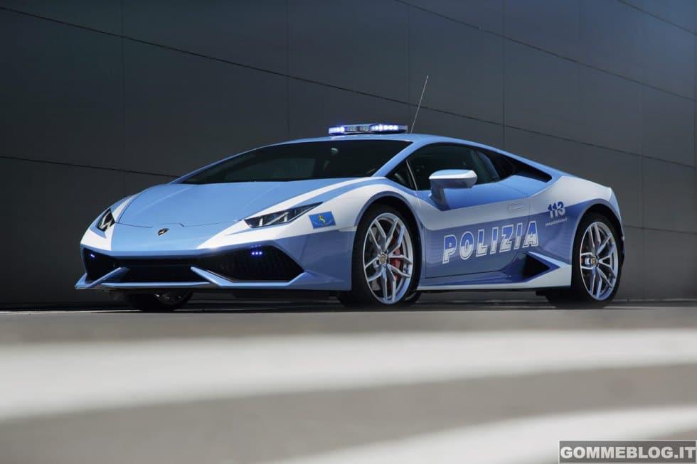 Lamborghini Huracán LP610-4 Polizia