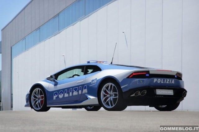 Lamborghini Huracan LP610-4 Polizia - 2