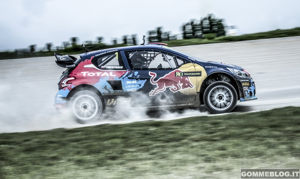 Peugeot 208 T16 WRX pronta al debutto nel World Rallycross