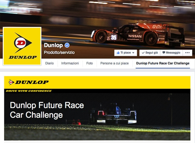 Dunlop Future Race Car Challenge: Progetta Tu l'auto da corsa del futuro