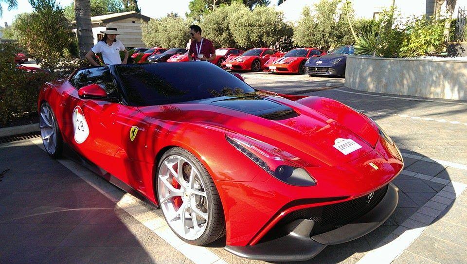 Ferrari F12 TRS: Modello Unico per la Ferrari Cavalcade 2014