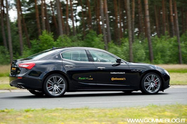 Pneumatici Maserati: Ghibli calza Continental ContiSportContact 5