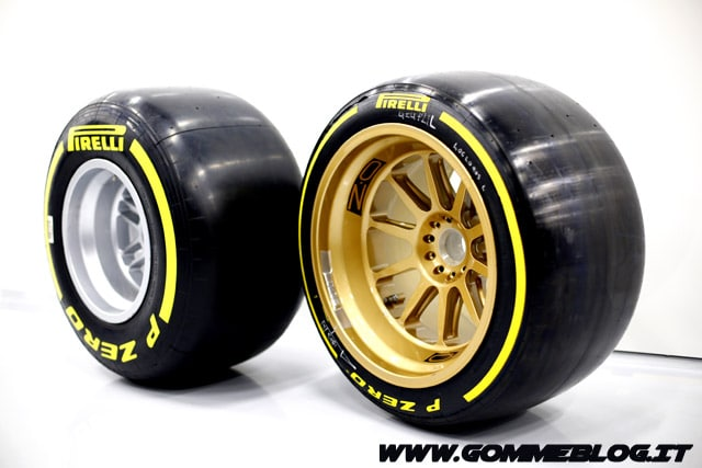 Formula 1: Primo Test Pirelli con le nuove Gomme da 18 Pollici