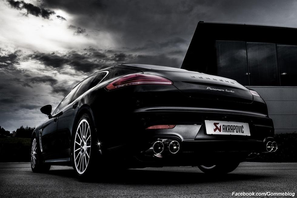 La nuova Porsche Panamera: l'ultimo stadio dell'evoluzione di Akrapovič