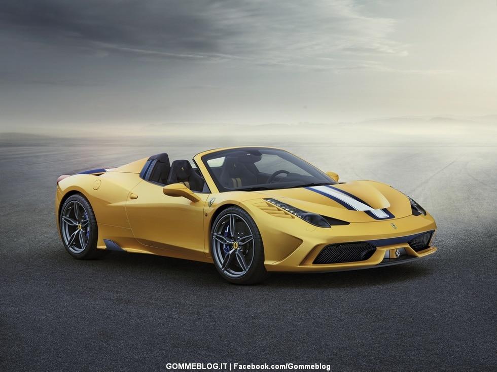 Ferrari 458 Speciale A: spider con prestazioni da record