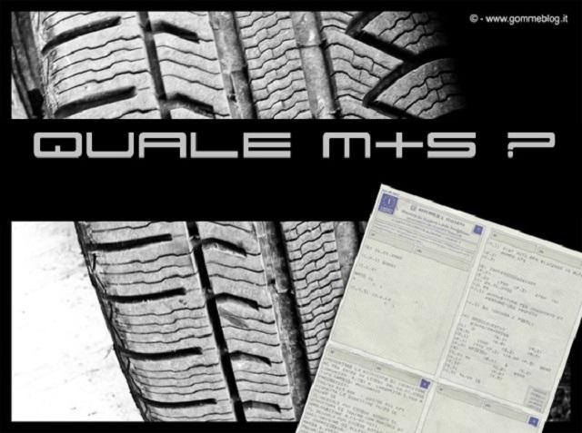 M+S e libretto di circolazione: Pneumatici invernali quali misure?