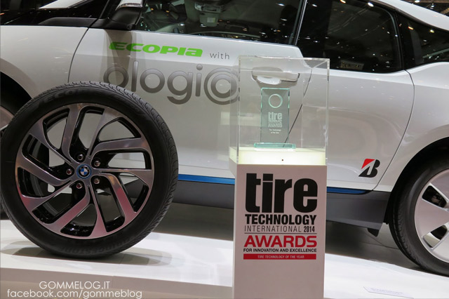 Bridgestone agli Awards della Gomma di Assogomma: vittoria nella categoria Sostenibilità