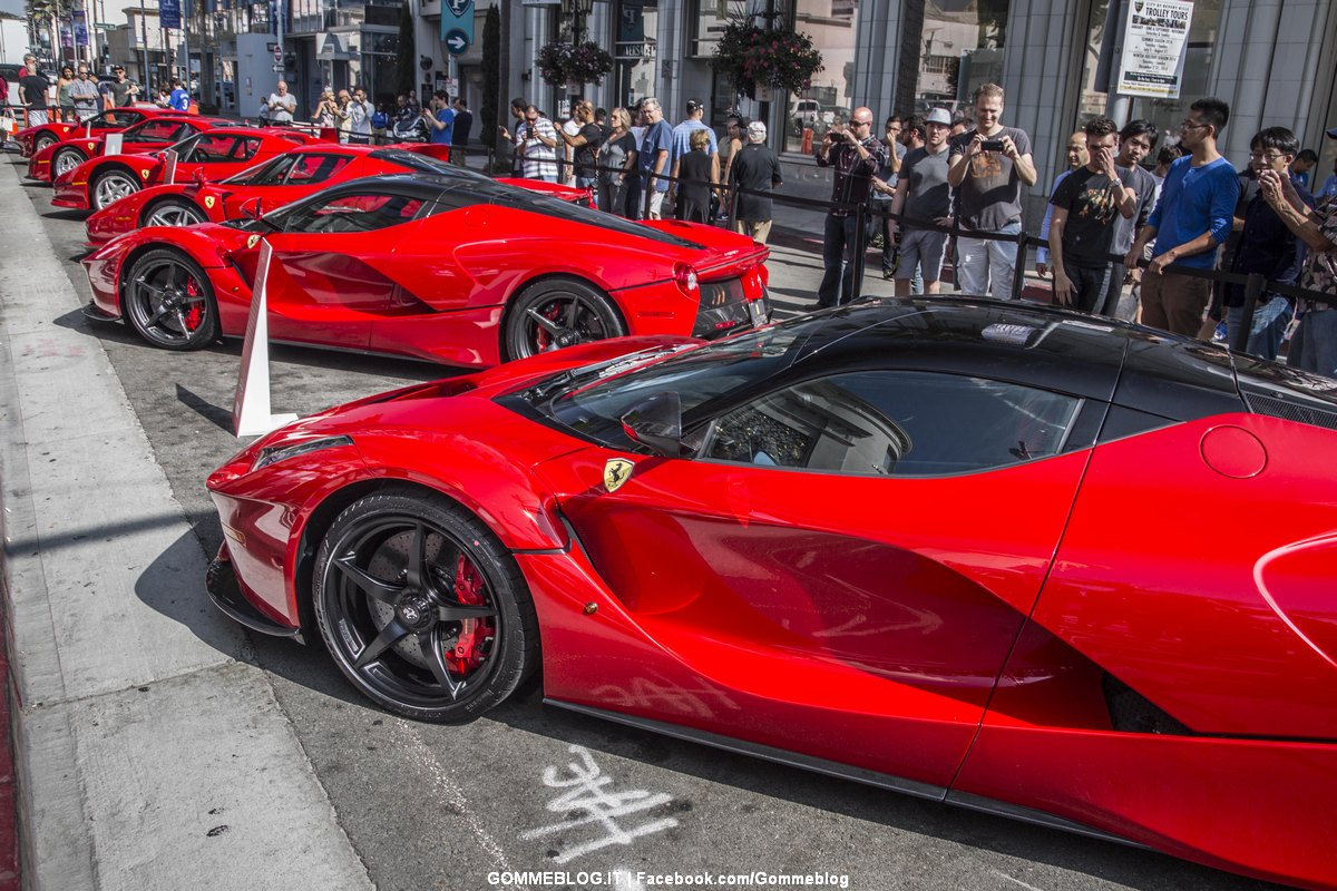 Ferrari in America 60 Anni: Grande Gala a Beverly Hills [FOTO] [VIDEO]