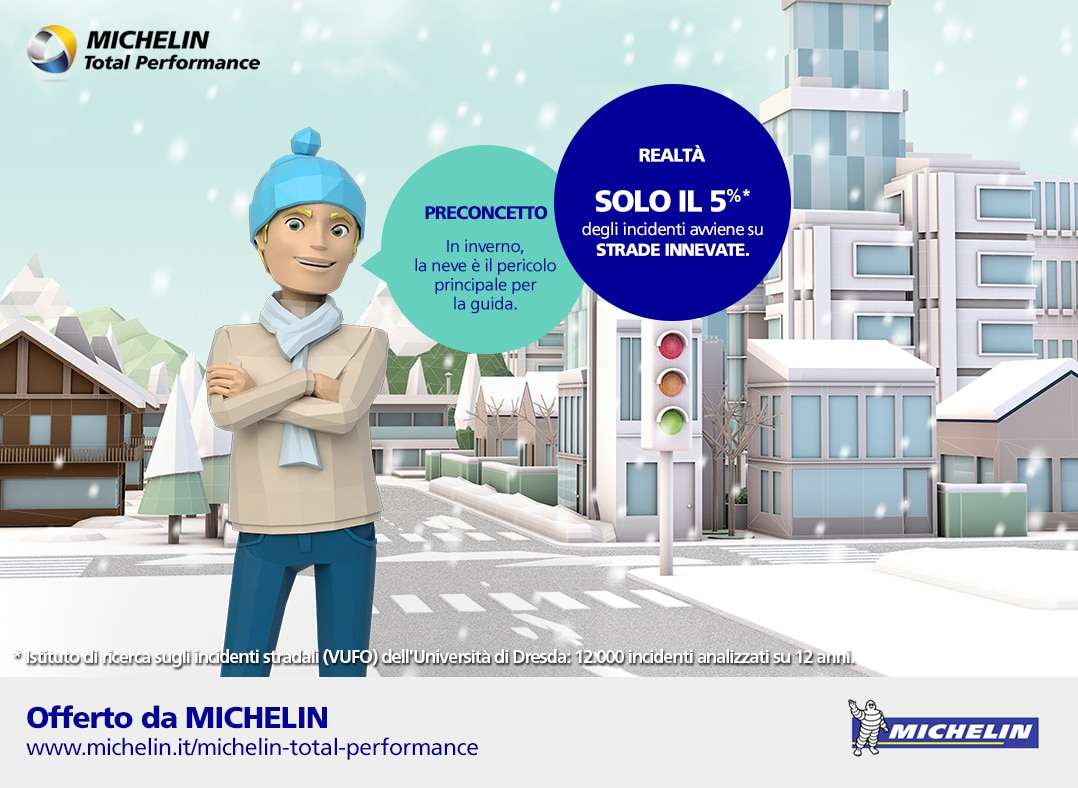 Michelin Road Usage Lab: un laboratorio di guida dal vivo