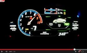 Lamborghini Huracán: Accelerazione Launch Control 0 – 340