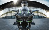 Kawasaki H2R: 300 CV Sovralimentata con Gomme Racing Slick