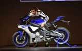 Nuove Yamaha R1 e R1M 2015: Foto Gallery