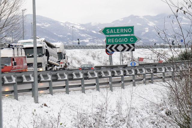 Ordinanze Pneumatici Invernali 2014: A3 Salerno-Reggio Calabria 2