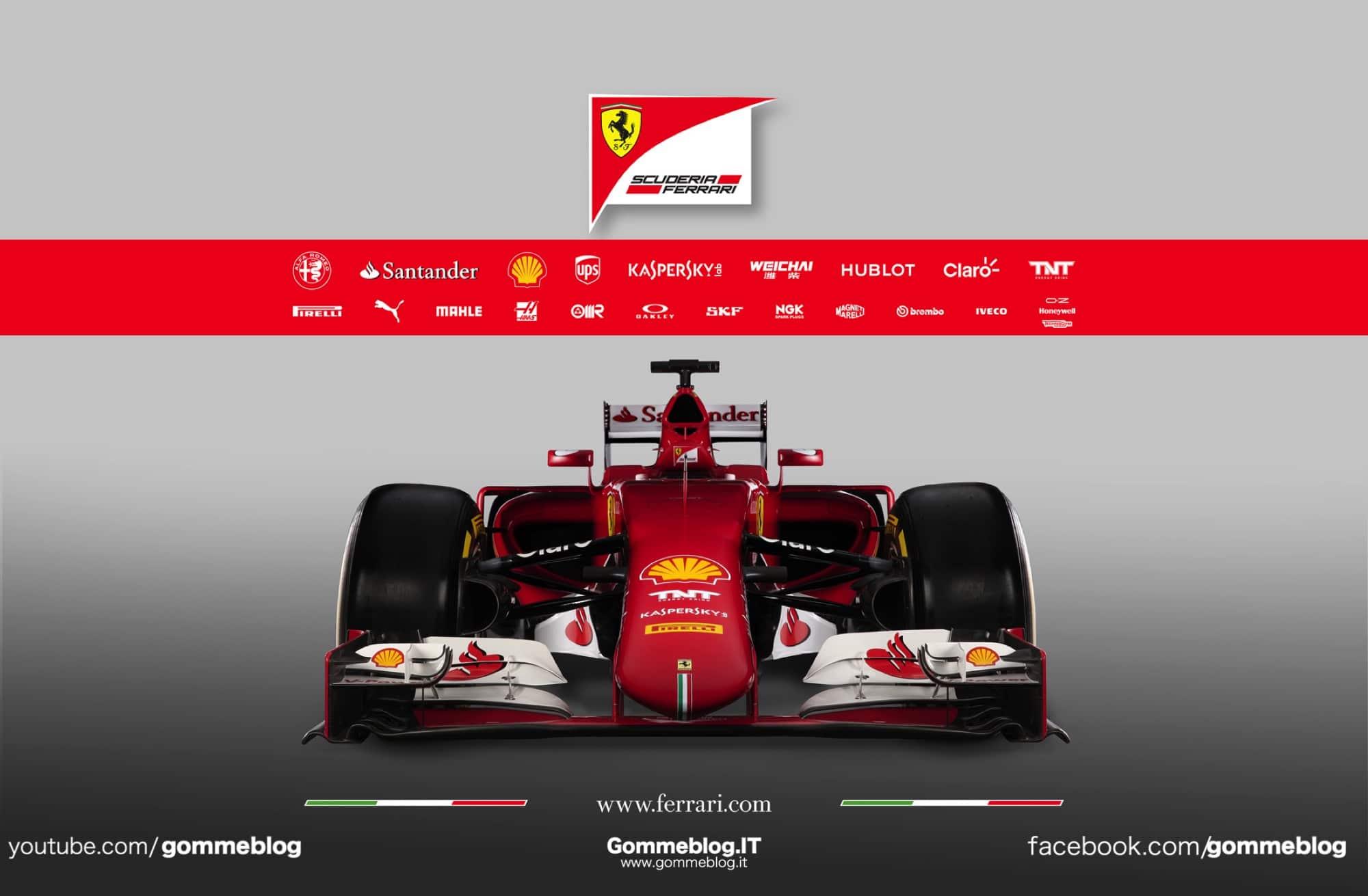 Ferrari SF15-T: Presentazione e dati Tecnici 3