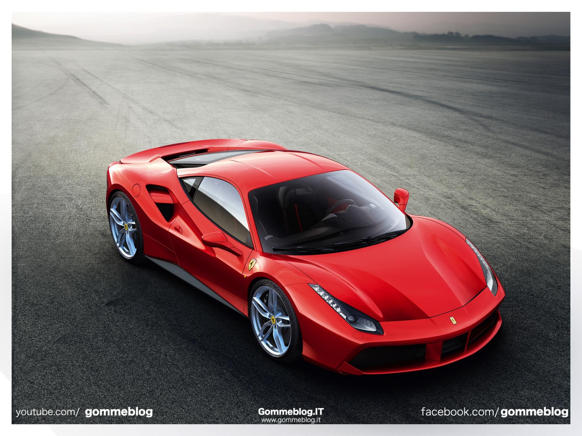 Ferrari 488 GTB: Nuova Supersportiva V8 Turbo da 670 CV