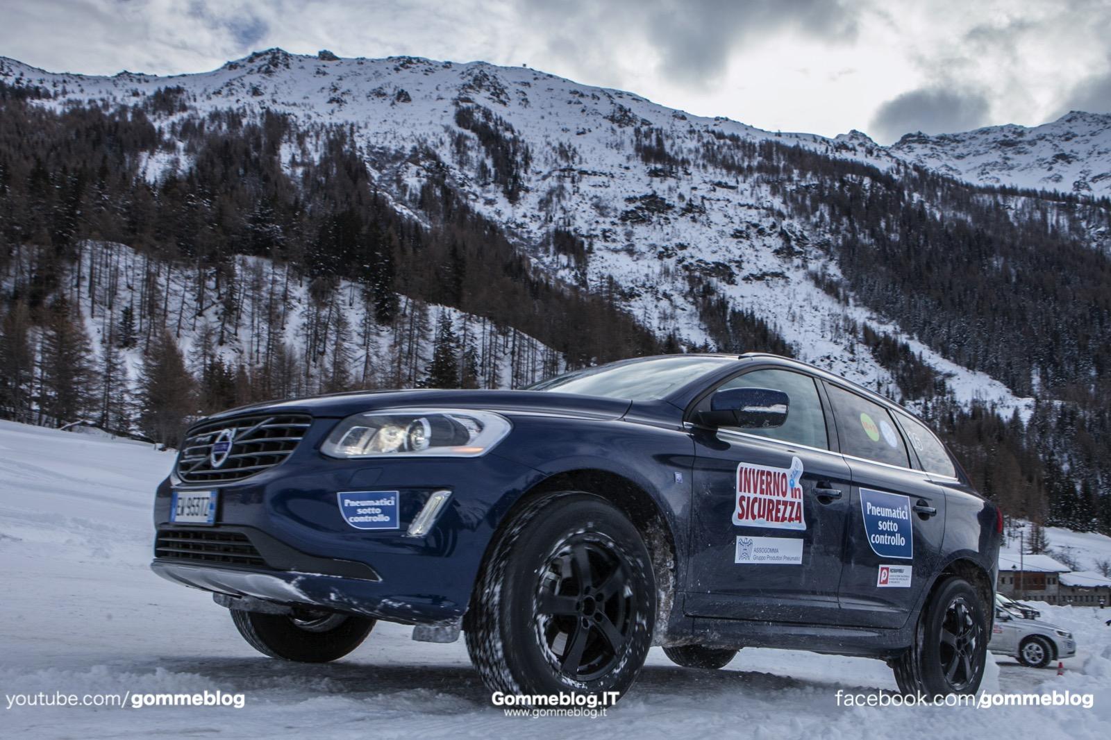 TEST Pneumatici Invernali 2015: a La Thuile con Assogomma e Federpneus 2