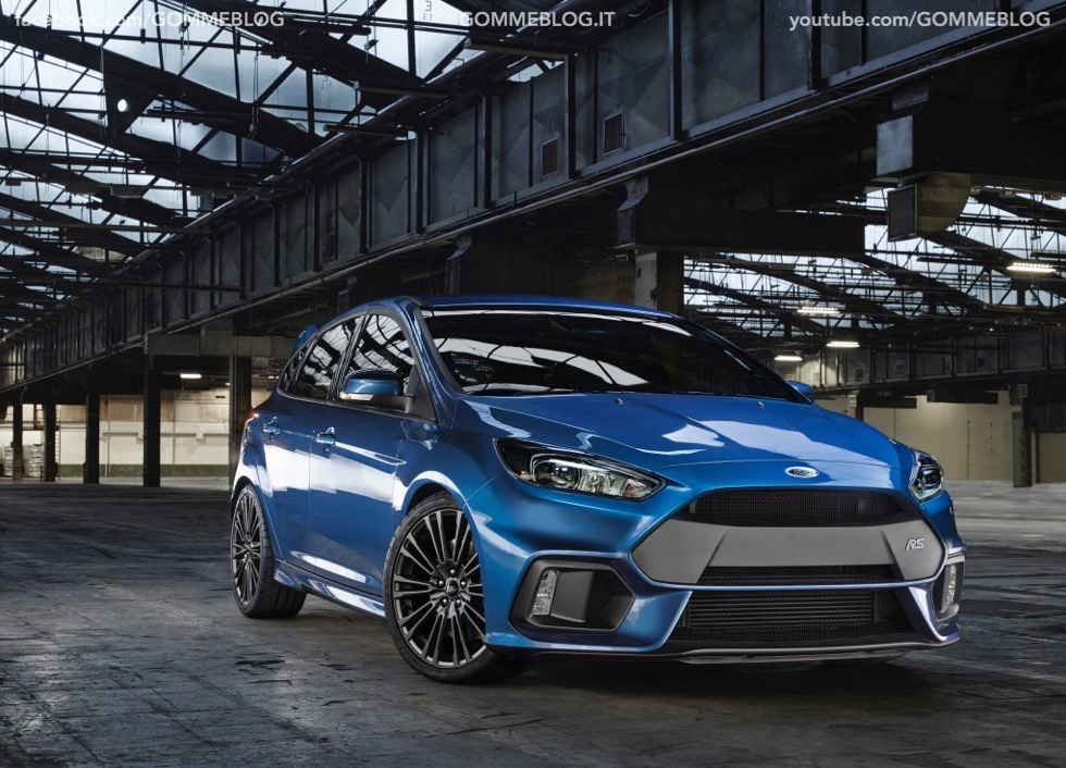 Ford Focus RS: oltre 320 cavalli e trazione integrale
