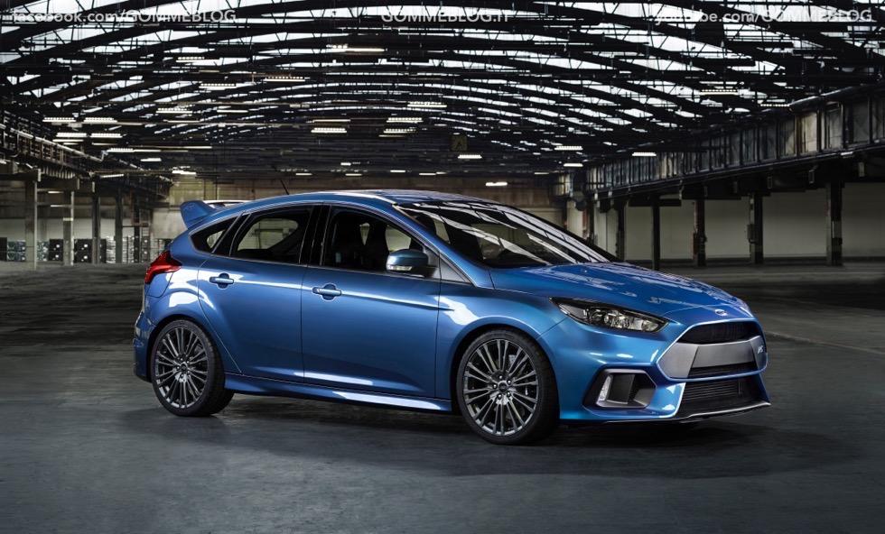 Ford Focus RS: oltre 320 cavalli e trazione integrale 11