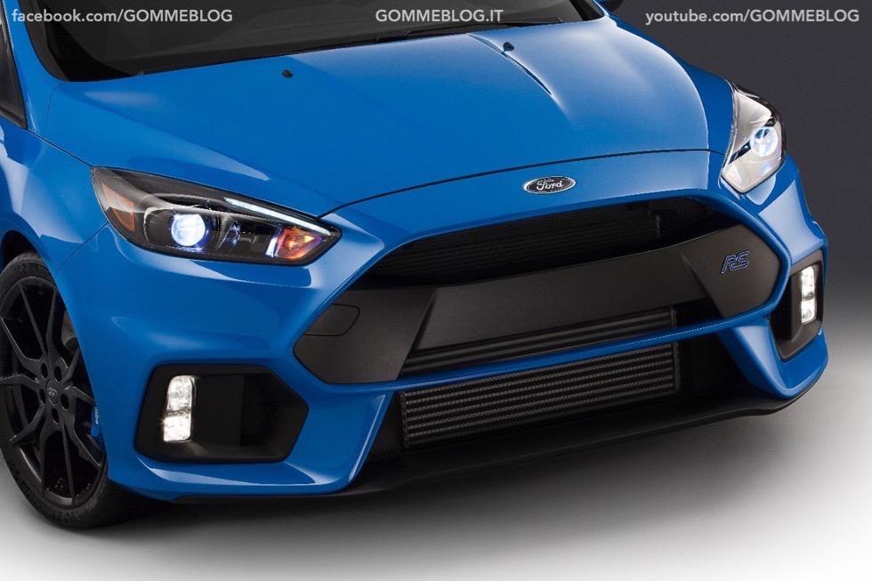 Ford Focus RS: oltre 320 cavalli e trazione integrale 4