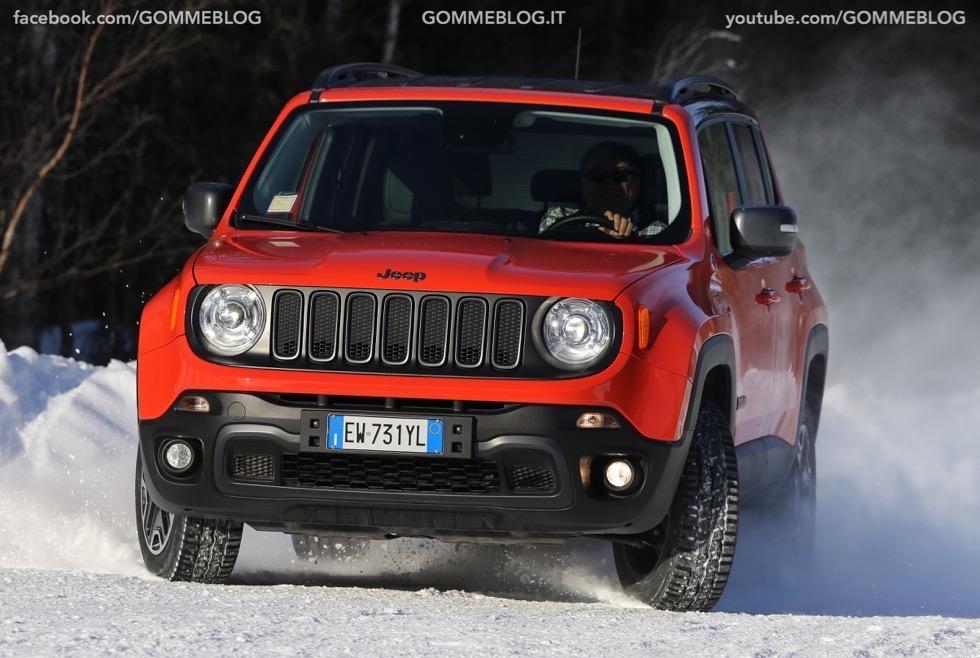 Jeep Renegade Sport TEST DRIVE NEVE e GHIACCIO 1