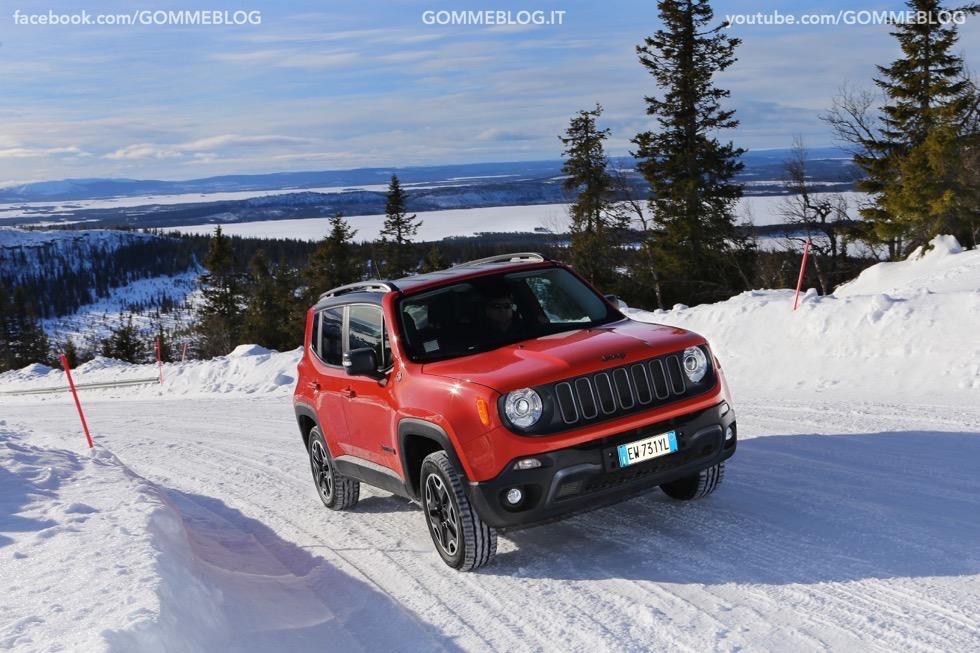 Jeep Renegade Sport TEST DRIVE NEVE e GHIACCIO 4