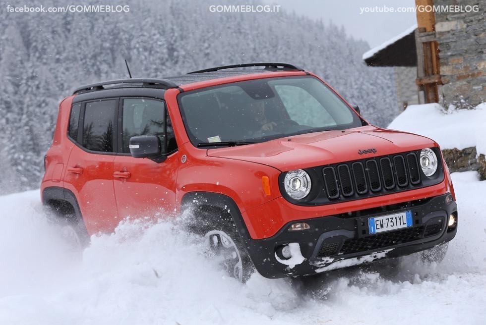 Jeep Renegade Sport TEST DRIVE NEVE e GHIACCIO 5