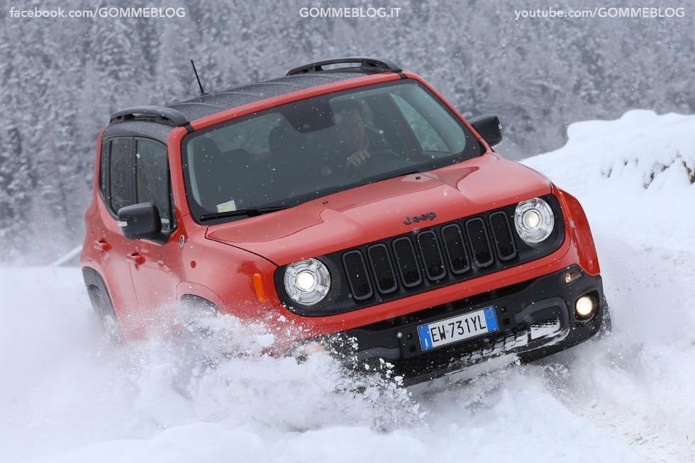 Jeep Renegade Sport TEST DRIVE NEVE e GHIACCIO 6