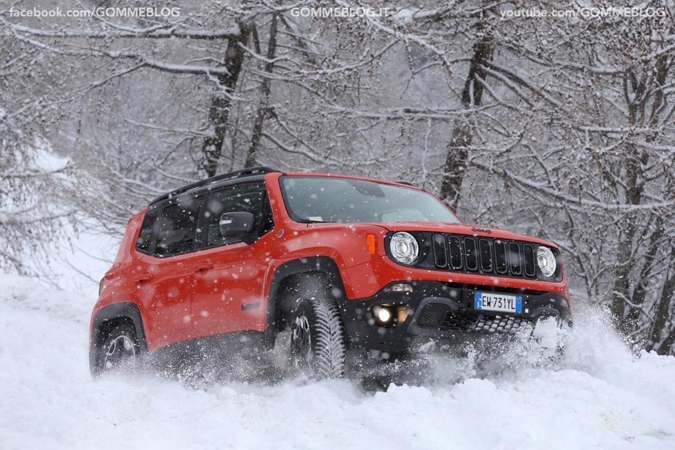 Jeep Renegade Sport TEST DRIVE NEVE e GHIACCIO 7