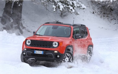 Jeep Renegade Sport TEST DRIVE NEVE e GHIACCIO