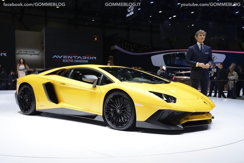 Supercar e Pirelli Salone di Ginevra 2015 [GALLERIA IMMAGINI]
