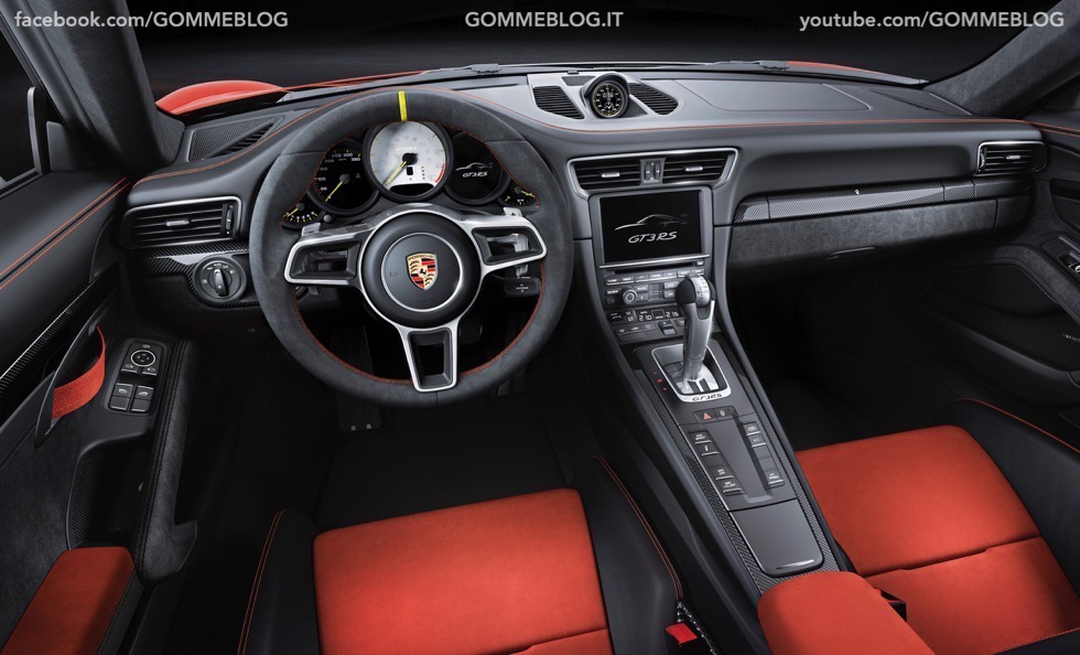 Nuova Porsche 911 GT3 RS: la Regina torna un Pista 9